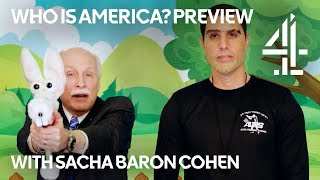 Who Is America? | Duping Gun Rights Activists with Gun for Kids | Sacha Baron Cohen