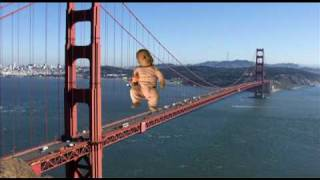 Baby on the Golden Gate