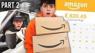 I Worked a Job At Amazon for a Week & Made £___   (PART 2)