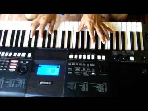 Vídeo aula de teclado- PERTO DE TI- DUPLA CANÇÃO E LOUVOR COMPLETA