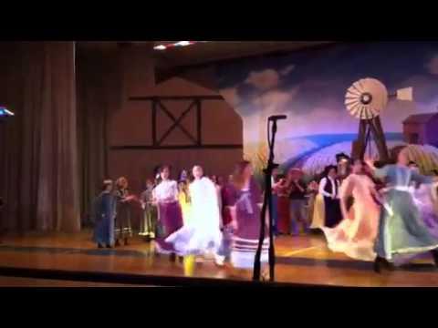 Oklahoma - Jessica's 1st musical play