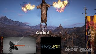 Ghost Recon Wildlands no HUD extreme difficulty El Cardinal Mission attempt 2 with CashusBucks