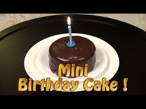 How To Make A Mini Chocolate Birthday Cake