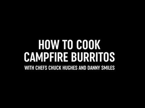 How to Cook Campfire Burritos