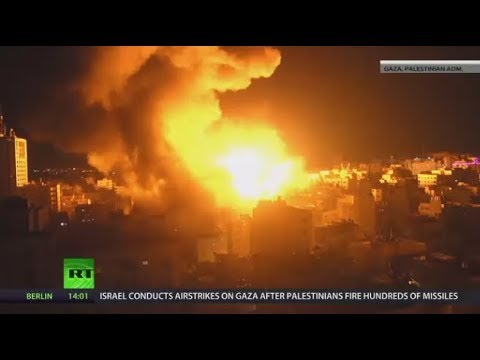 Israel hits 150 targets in Gaza after Palestinian missile onslaught