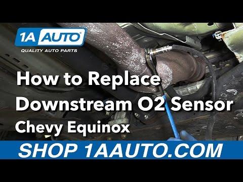 How to Replace Downstream O2 Sensor 08-09 Chevy Equinox