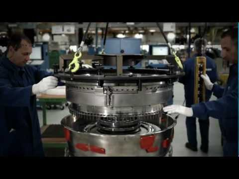 SaM146 core assembly - Safran Aircraft Engines Villaroche facilities