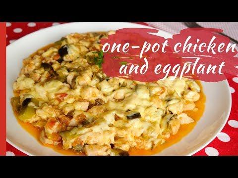 Easy One-Pot CHICKEN & EGGPLANT