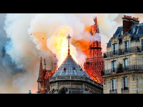 The Wake Up Show - Woman Says She Saw Jesus In The Flames At The Notre Dame
