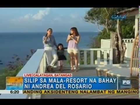 A look at Andrea del Rosario's resort-like house | Unang Hirit