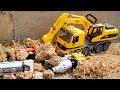 Truck for Kids | Fire Truck & Truck Toys Crashed, Excavator Dump Truck Construction for Children