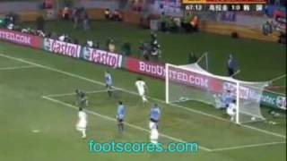 Uruguay vs. South Korea 2-1 FIFA Wolrd Cup 2010 Highlights