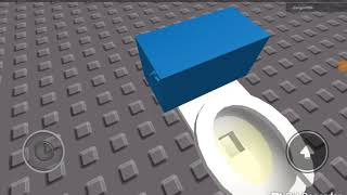 538: 2001-2010 AS Cadet Pressure Assist Toilet With A Blue Tank At Roblox