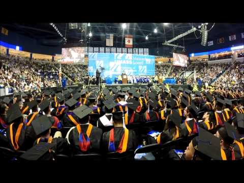 Bill Nye Speaking at UMass Lowell's 2014 Graduation