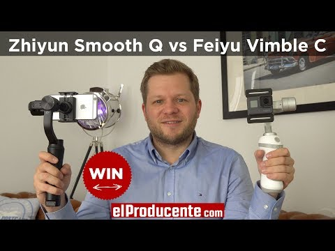 Zhiyun Smooth Q vs Feiyu Vimble C - Comparison Review