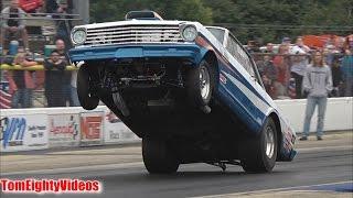 1964 Chevy Nova Wheelie & Crash