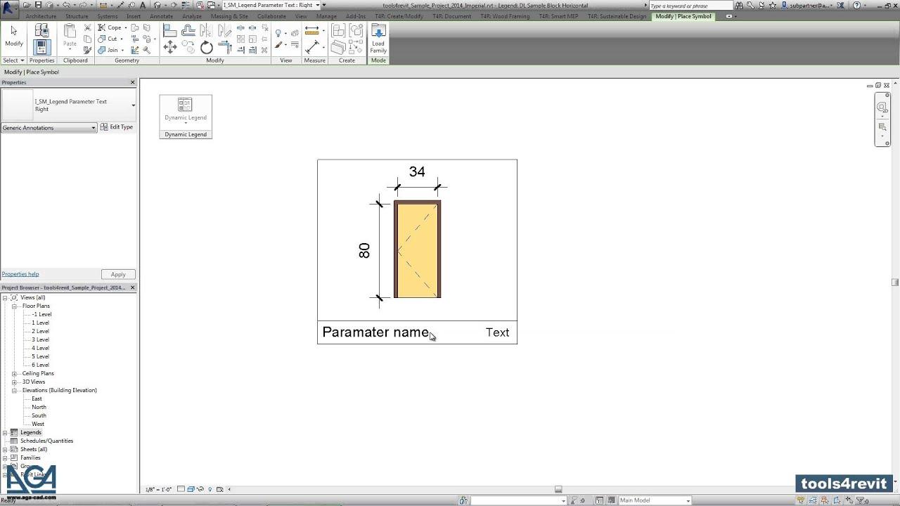 AGA-CAD - Dynamic Legend - 1 Step - Preparation: Creating Sample ...