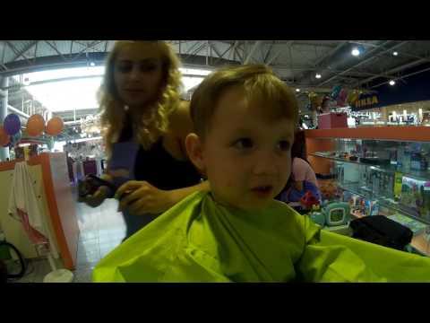 Детская парикмахерская.Как подстричь ребенка.Дневник отца.