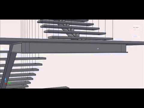 Escalera principal youtube - Escalera con tensores de acero ...