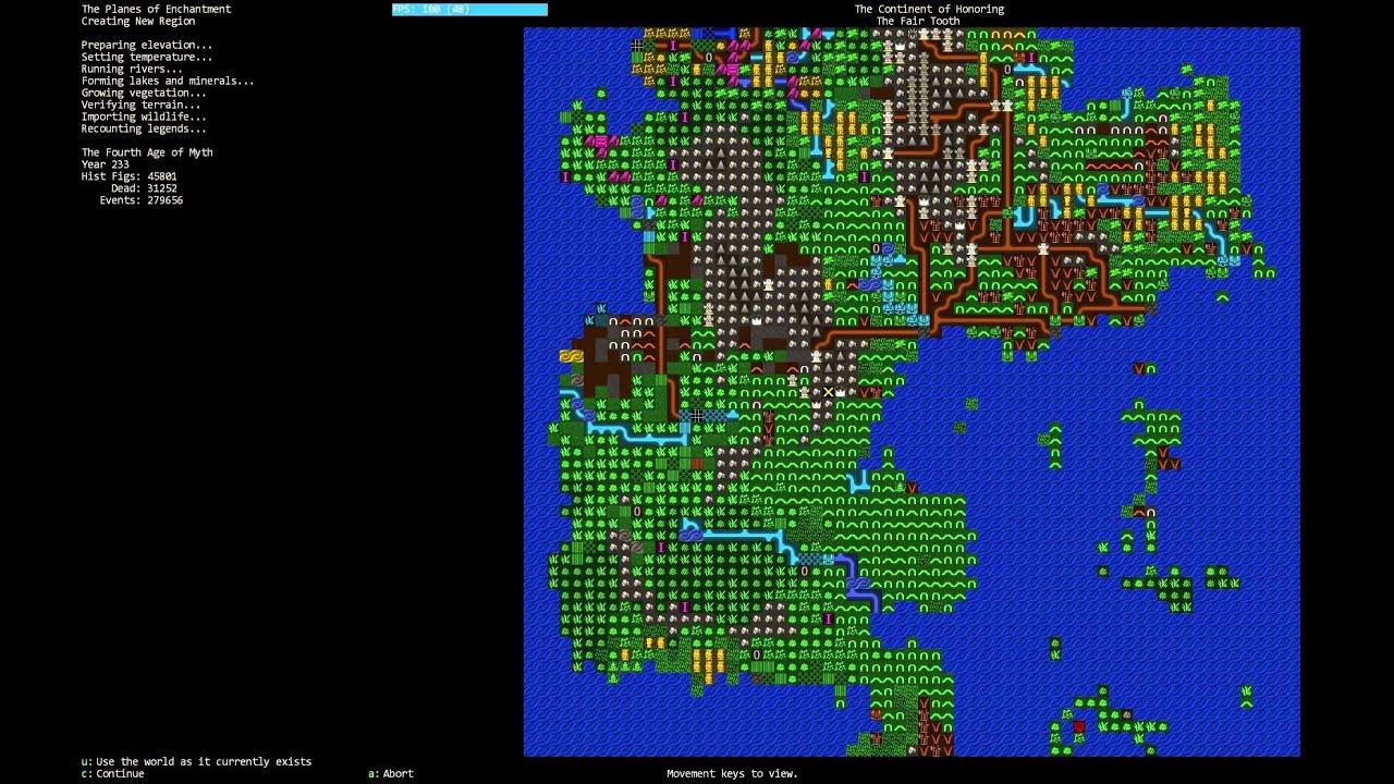 dwarf fortress wiki how to start