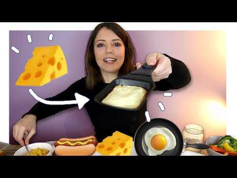 Raclette Essen & All You Can Eat Käse Mukbang