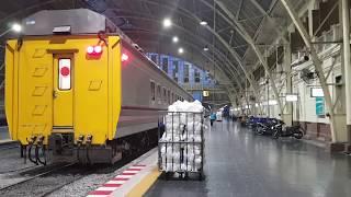 รถไฟด่วนพิเศษกรุงเทพหนองคาย รีวิวจัดเต็ม