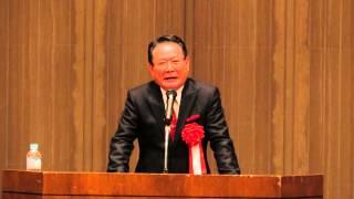 防府保護司会65周年記念講演に前田吟さん登場.