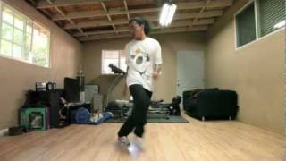 House Dance Tutorial - Cross Step X 2