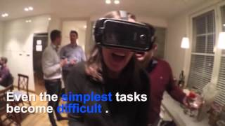 VR Party Game tested at a party