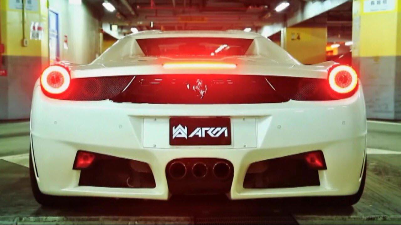 2014 Ferrari 458 Spider >> Ferrari 458 Spider Blasting w/ Armytrix Titanium Exhaust - YouTube