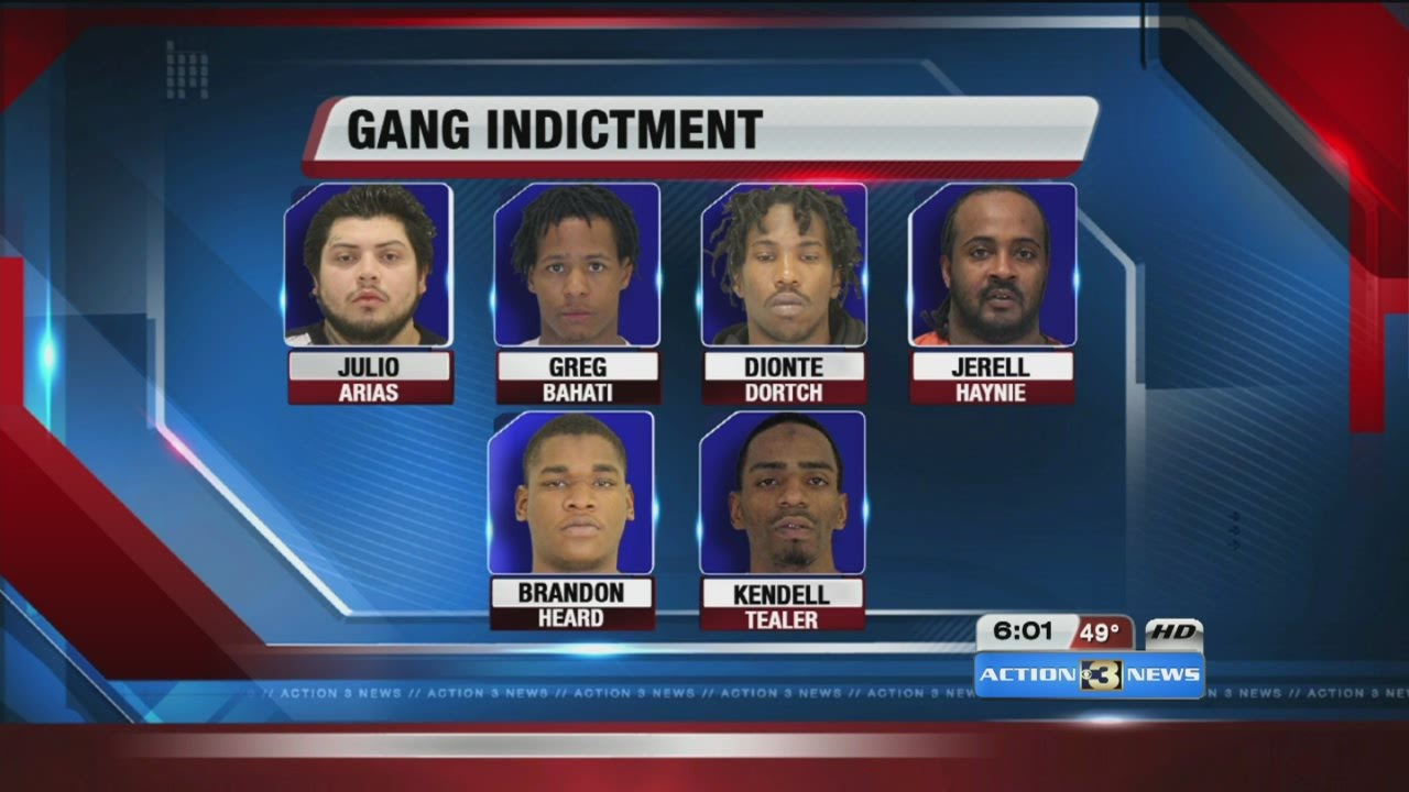 Known gang members indicted for running criminal ...