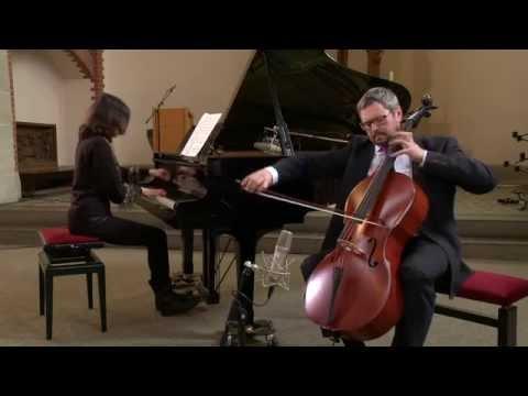 SCHUBERT, Arpeggione Sonata, D 821, Allegro moderato - performed by Prof. Leonid Gorokhov on RCI
