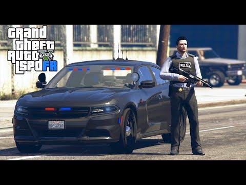 GTA 5|LSPDRF #200|POLICIA ENCUBIERTA- DODGE SECRETO|EdgarFtw thumbnail