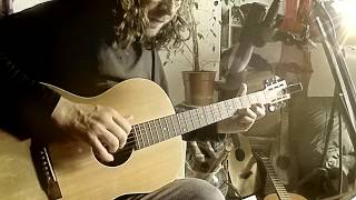 'It's Raining Today' - Homage to Scott Walker (Acoustic Cover 3/25/2019) Video