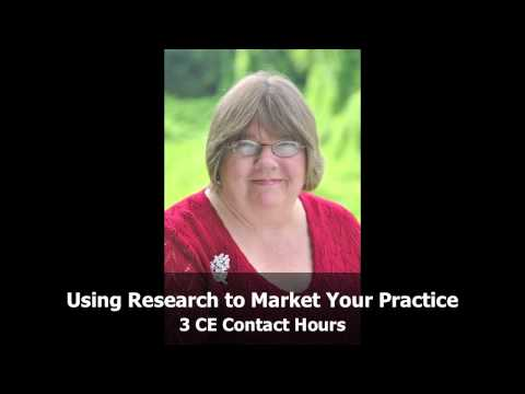 Laura Allen  Using Research to Market Your Massage Therapy Practice