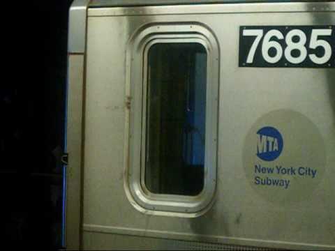 Railfan: MTA NYCTA 149 St-Grand Concourse Bound R142A (5) Exp Train Brooklyn Bridge-149 St
