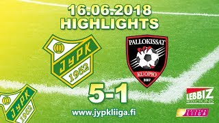 JyPK - Pallokissat 16.06.2018 Highlights!