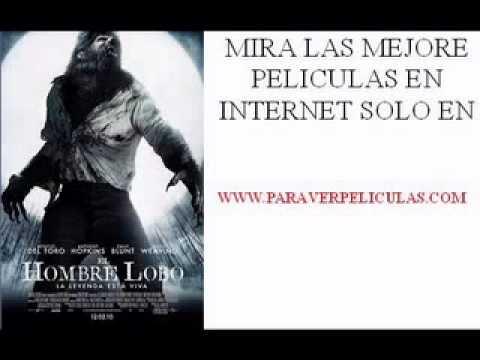 Pelicula  El hombre lobo www.paraverpeliculas.com