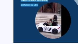 Masina electrica cu telecomanda si pedala pentru copii este cadoul perfect.