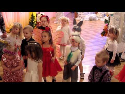 kids new year party 2015 Minsk kindergarten 337