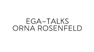 (T1E9) EGA-Talks with Orna Rosenfeld: Adequate housing for all