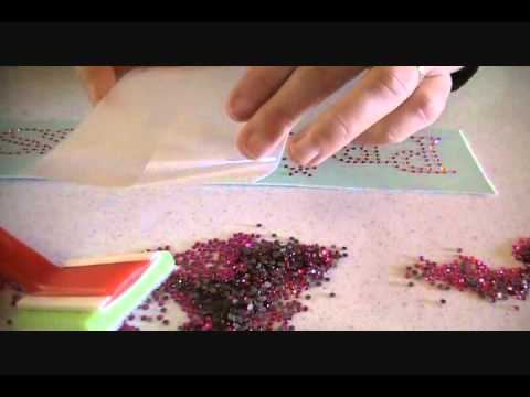 How To Make A Rhinestone Transfer YouTube - How to make rhinestone templates
