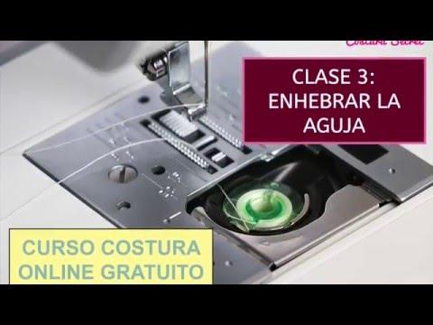 Cómo enhebrar máquina de coser Alfa - YouTube