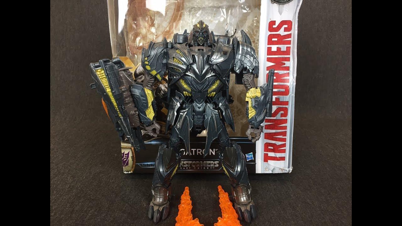 Hasbro Transformers MV5 The Last Knight Leader class Megatron Action Figure