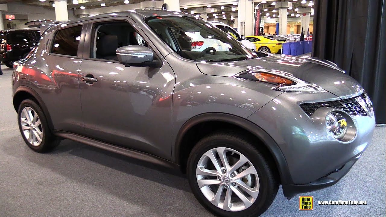 2015 Nissan Juke SL AWD   Exterior And Interior Walkaround   2015 New York  Auto Show   YouTube