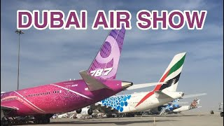 Dubai Air Show 2019 | Aircrafts Static Display