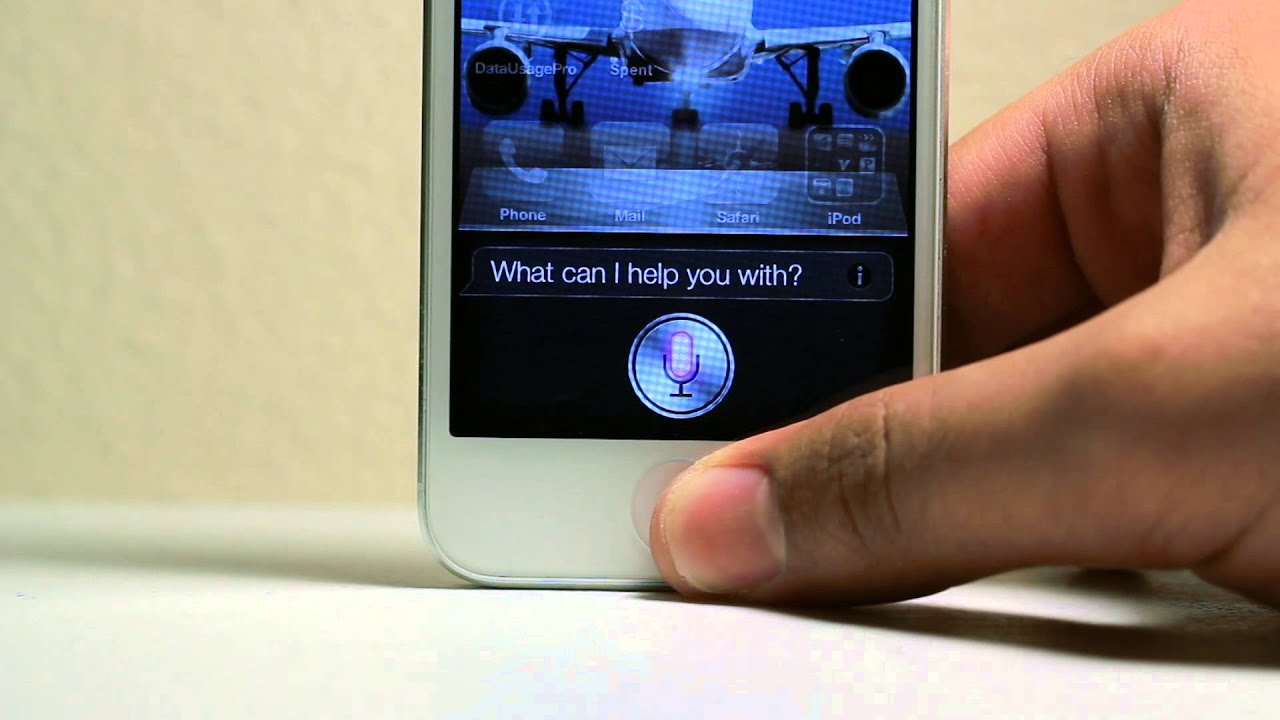 Iphone 5 s projector integrated with siri concept video for Iphone 5 projector