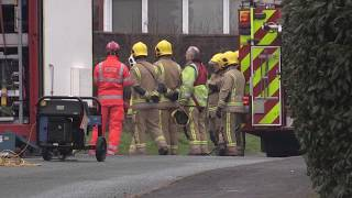 Stafford house fire: Emergency services give update from scene