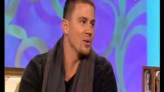 Channing Tatum interview on The Paul O'Grady Show