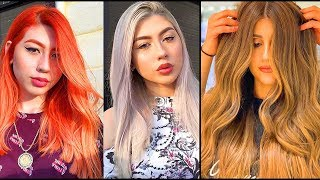 Top 10 Best Long Hair Color Transformation Tutorials Compilation From Famous Hair Salon